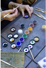 Natural Face/Body Paint individuele kleur - blauw