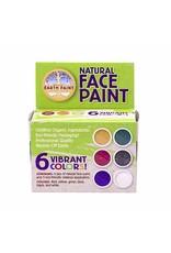 Natural Face Paint Kit - Natuurlijke schmink - 6 kleuren