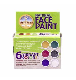 Natural Face Paint set - 6 kleuren