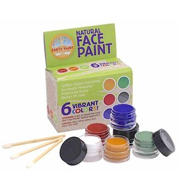 Natural Face Paint set - 6 kleuren