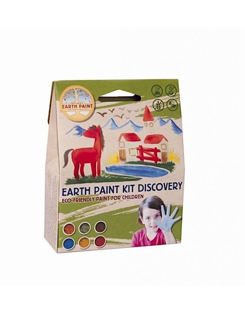 Children's Earth Paint - Kit Discovery natural paint