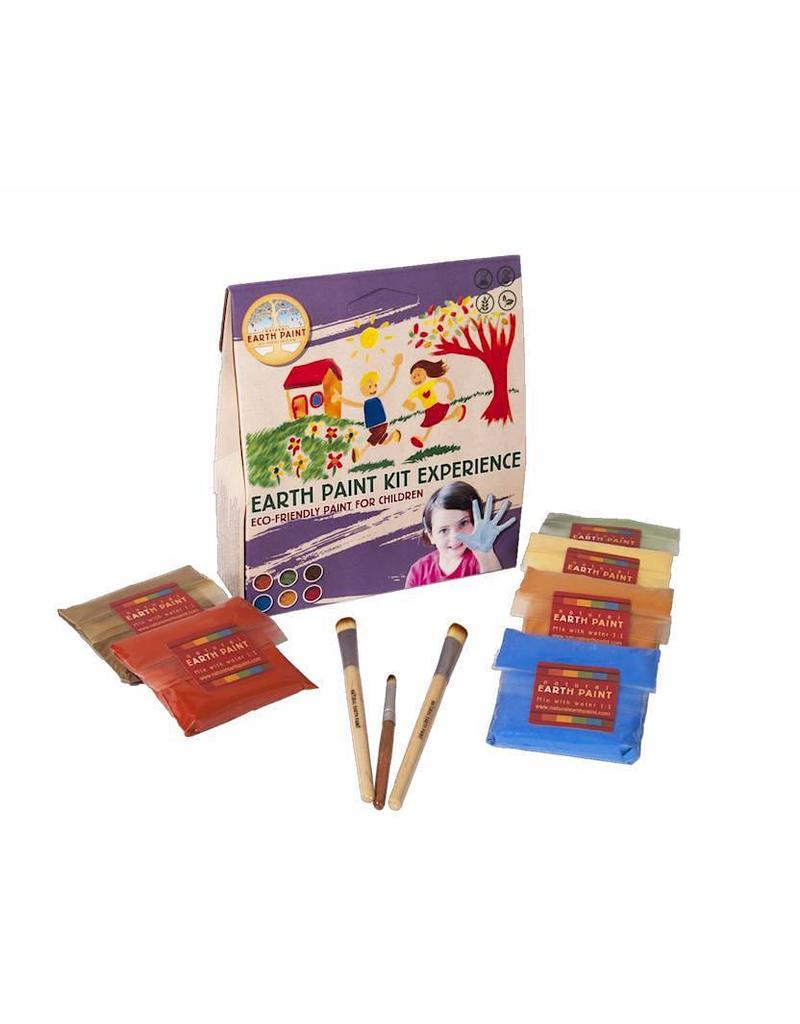 Children's Earth Paint Kit Experience with 6 colours