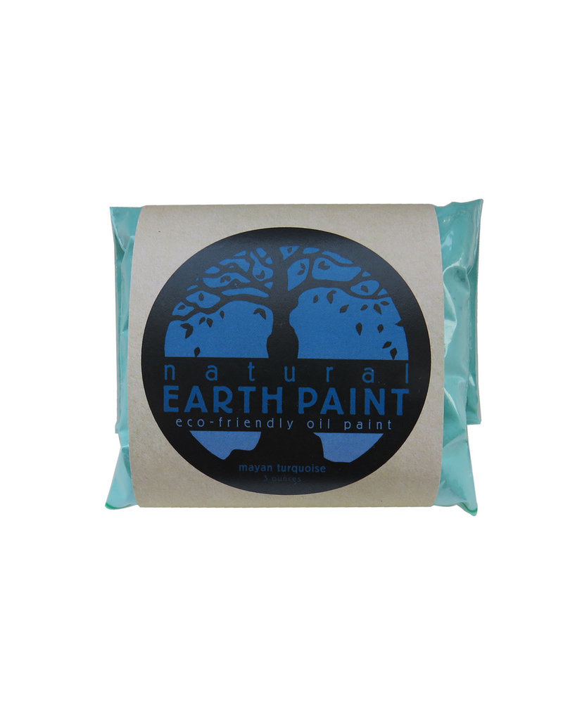 Natural Earth Paint aarde-pigment French Turquoise voor olieverf