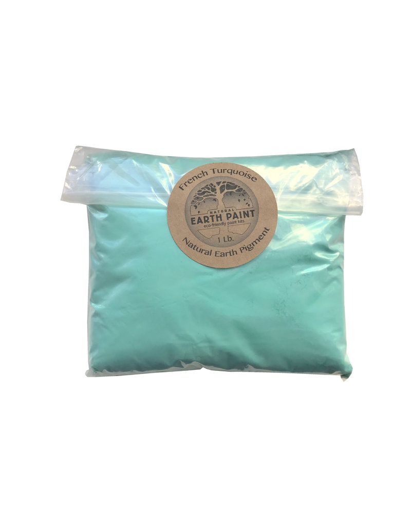 Bulk olieverf pigment kleur Mayan Turquoise