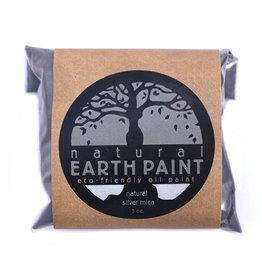 Oil paint pigment  Silver Mica