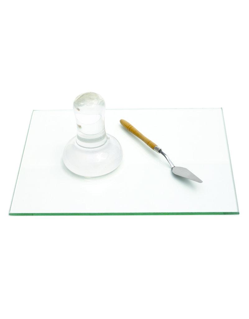 Natural Eath Paint Grote glazen loper