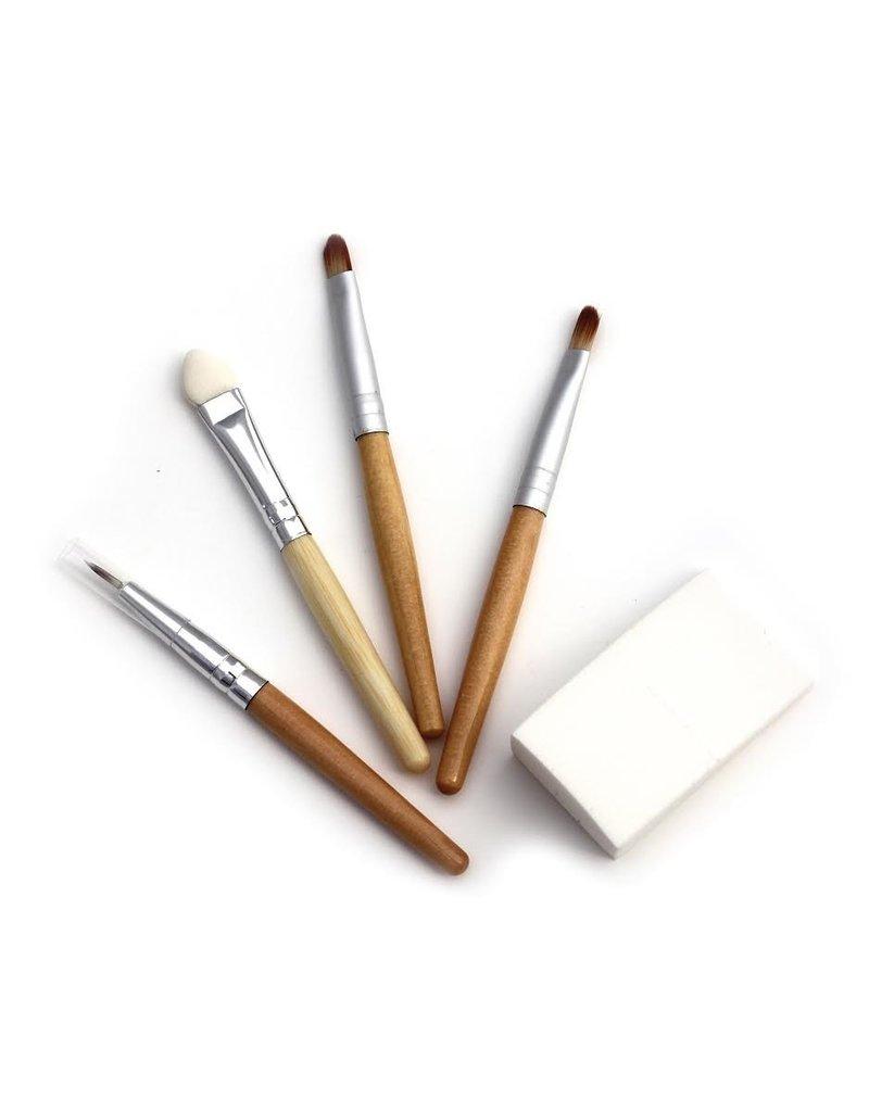 Ecological make-up brushes - set of 5