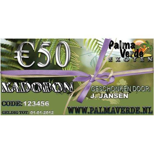 Produkten-products Kadobon € 50