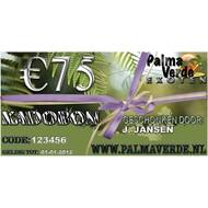 Produkten-products Kadobon € 75