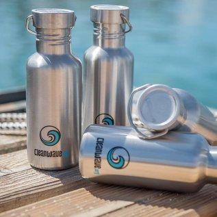 Cleanwave RVS drinkfles 600 ml