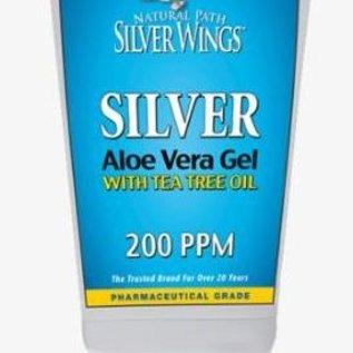 NPSW Colloidaal zilver Aloe Vera  gel 200ppmmet Tea Tree