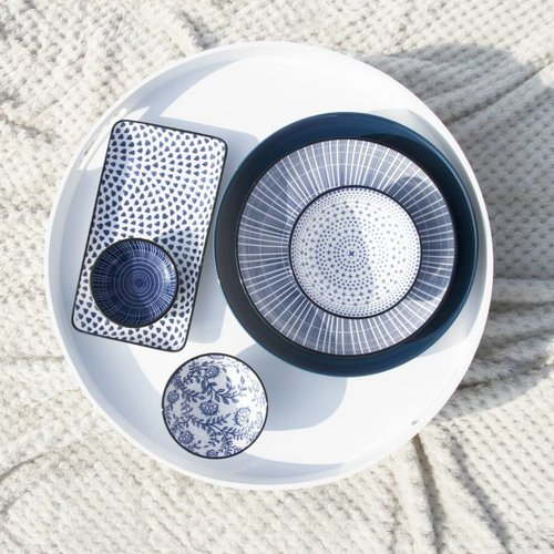 Dek je tafel met het stijlvolle out of the blue servies