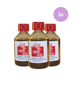 Oliefris Onderhoudsolie Naturel 3 x 250 ml