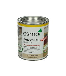 Osmo Polyx Rapid 3240 Transparant wit 750 ml