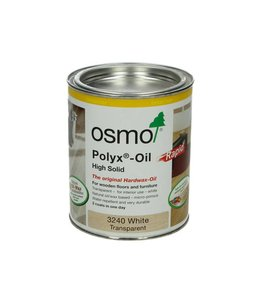 Osmo Polyx Rapid 3240 Transparant wit 2,5 liter
