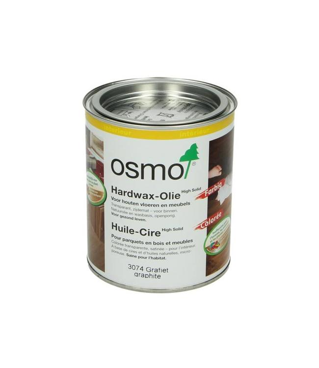 Osmo  Hardwax Olie 3074 Grafiet 750 ml