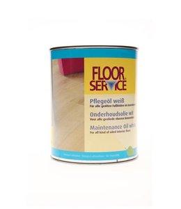 Floorservice Onderhoudsolie Wit