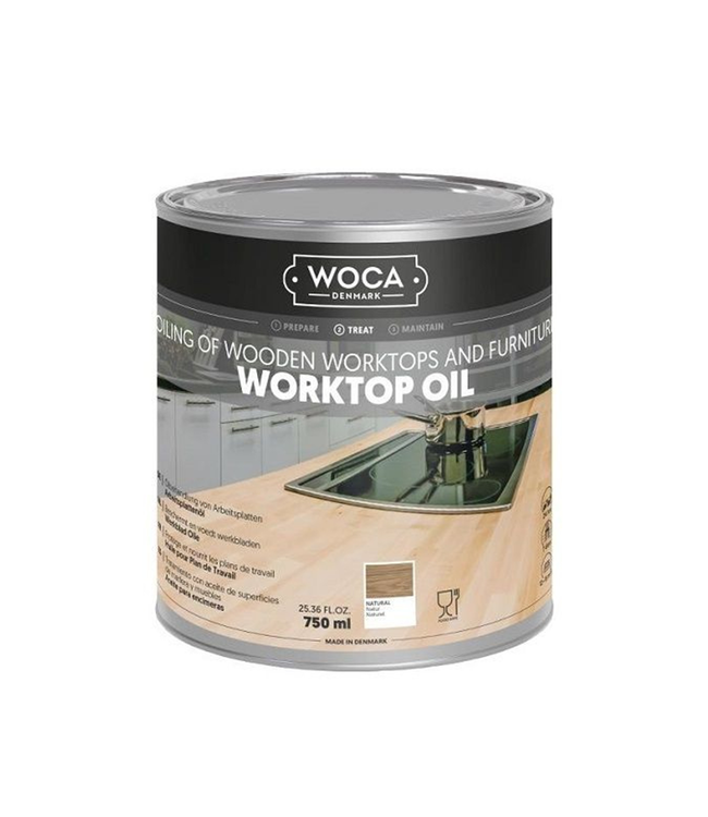 Woca Werkbladolie Naturel 750 ml