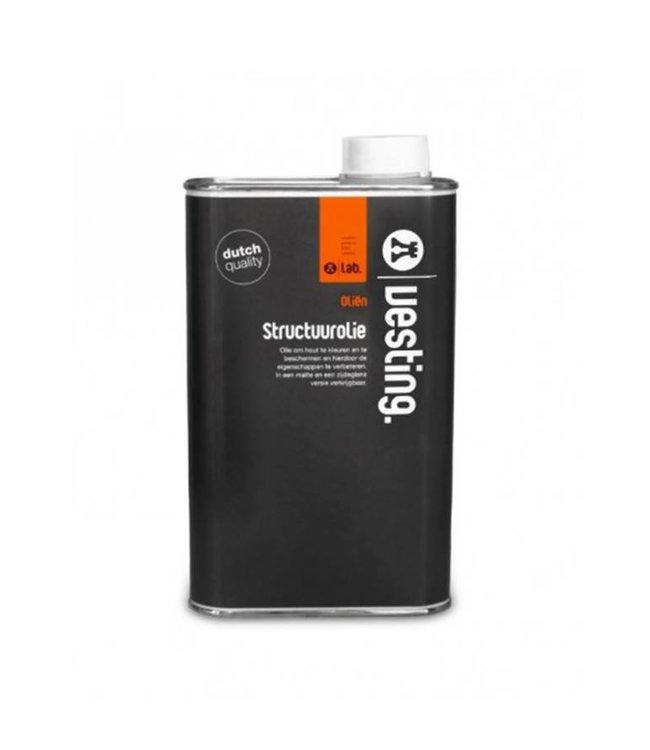 Vesting Structuurolie Blank  Mat 2-30 VK 1 ltr