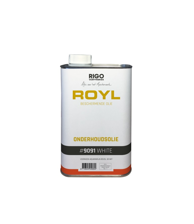 Royl Onderhoudsolie Wit 1 liter