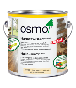 Osmo Hardwax Olie 3032 Kleurloos  2 x2,5 liter
