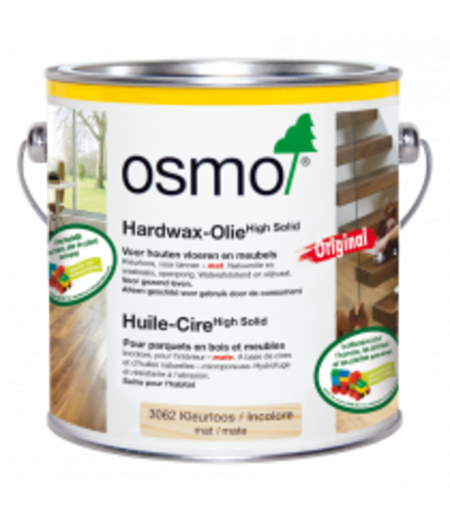 Osmo  Hardwax Olie 3062 Mat 10 liter