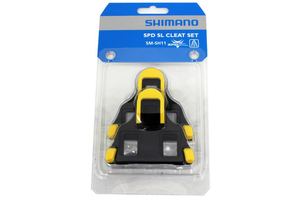 Shimano SM-SG11 SPD-SL Cleat Set Yellow