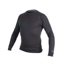BaaBaa Merino L/S Baselayer: Black/None - XL