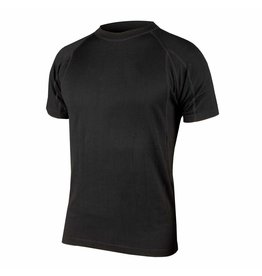 Merino S/S Base Layer : Black M