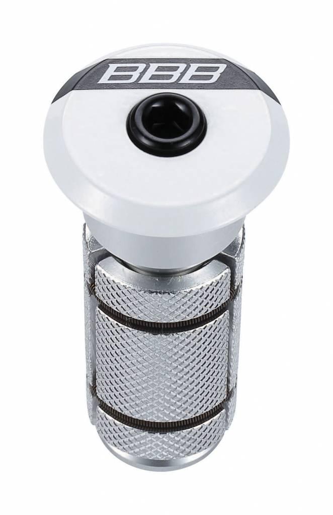 BBB BAP-03 - PowerHead 1.1/8 Headset Compressor (Gloss White)