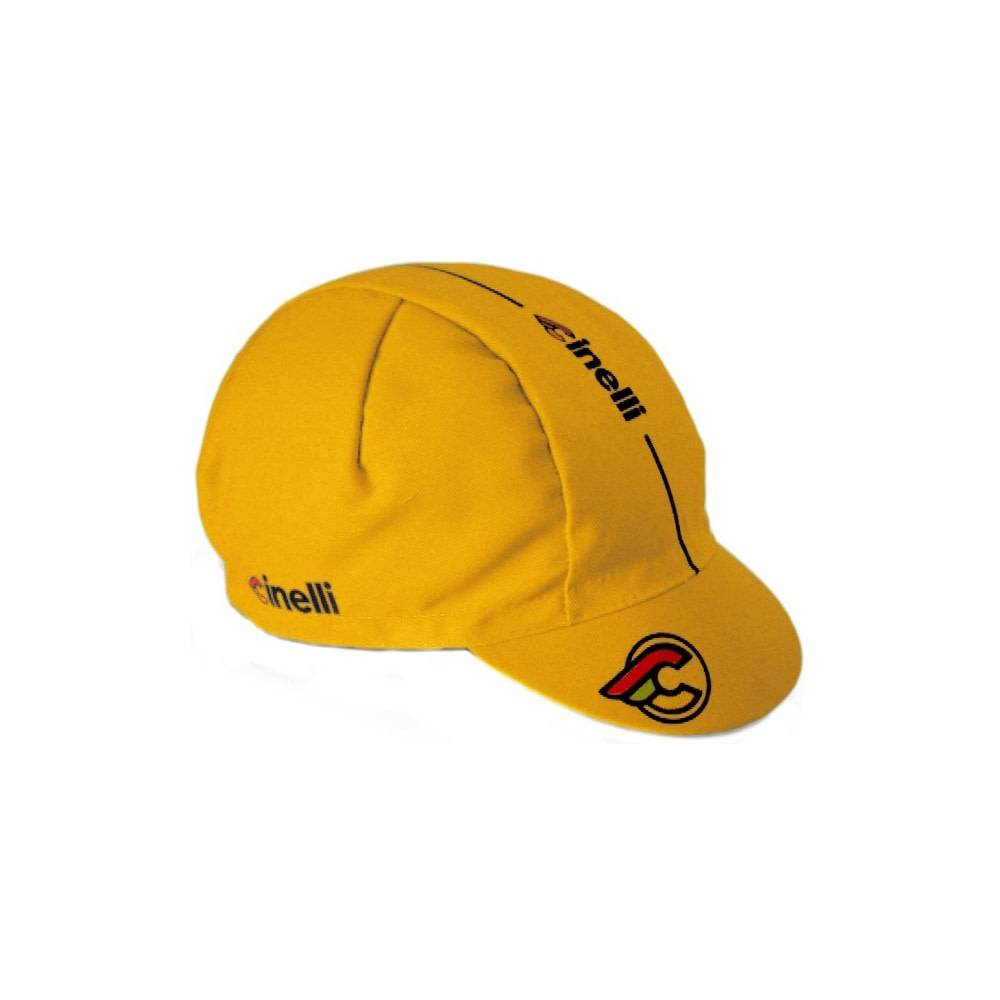 Cinelli SuperCorsa Yellow Cotton Cap