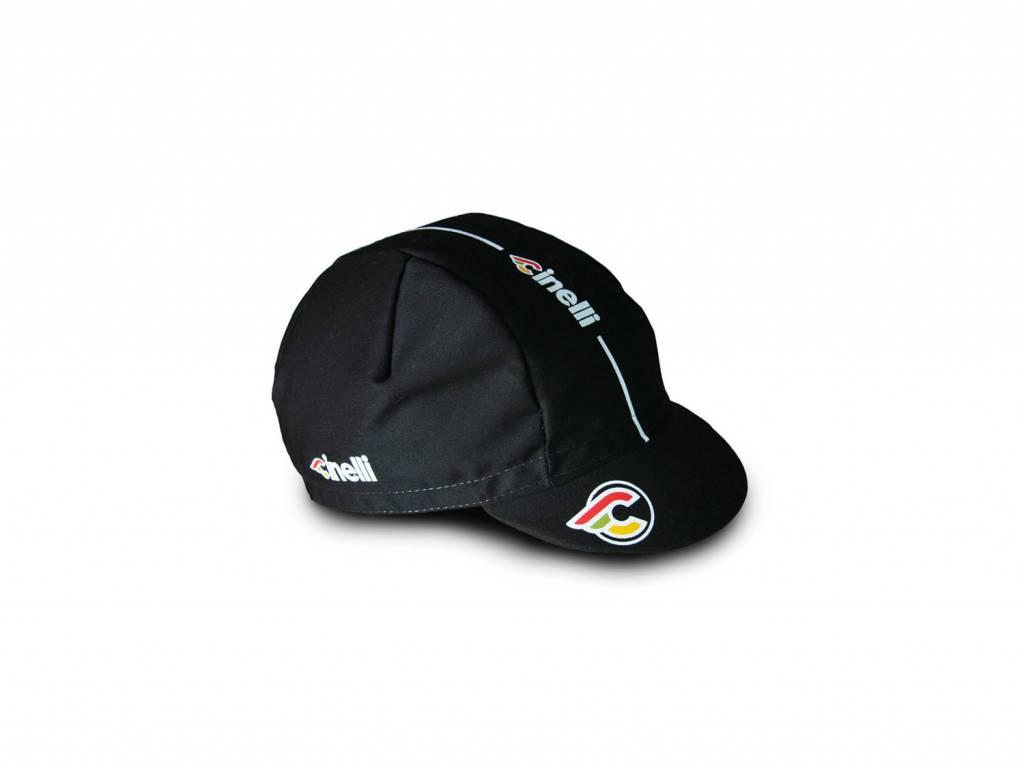 Cinelli SuperCorsa Black Cotton Cap