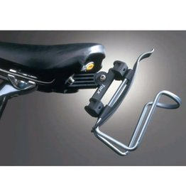 Tacx TACX SADDLE RAIL ADAPTOR FOR MOUNTING BOTTLE CAGE BEHIND SADDLE: GREY
