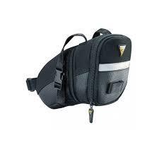 TOPEAK Aero Wedge Pack, w/ Velcro strap, Medium