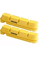 SwissStop Swiss Stop yellow carbon brake pad set king yellow