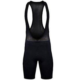 Funkier Force S-922-C7 Active 17 Panel Bib Shorts in Black - Medium