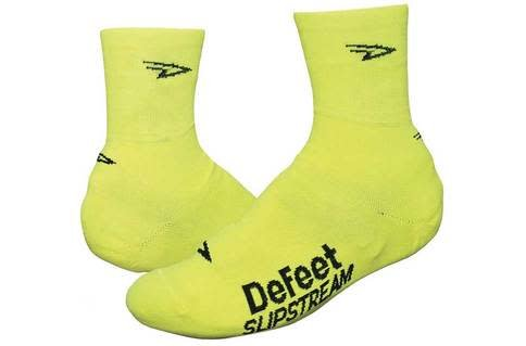 Defeet Slipstreamers Shoe Covers Neon Yellow