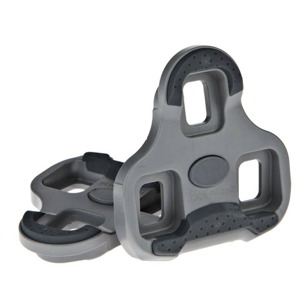 Look LOOK KEO CLEAT WITH GRIPPER 4.5 DEGREE GREY: GREY