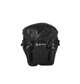 ETC black pannier Bag small X 1 Unifit