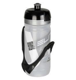 Elite ELITE racing bottle 550ml blk/colourless /bottle only