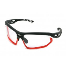 Rudy Project FOTONYK BLACK MATTE-IMPX 2 BLACK W/RED BUMPERS