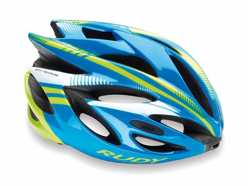 Rudy Project Rudy Project RUSH Blue/Lime Fluo shiny M