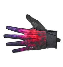 LIV Zorya Long Finger Glove Purple/Fuchsia/Red Large