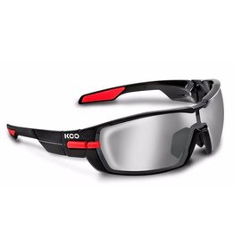 Koo Koo Open Smoke Mirror Lenses Black/Red