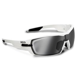 Koo Koo Open White Smoke Mirror Lenses