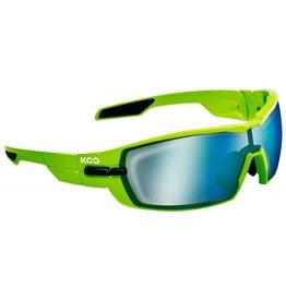Koo Kask Koo Open Lime Super Blue Lenses