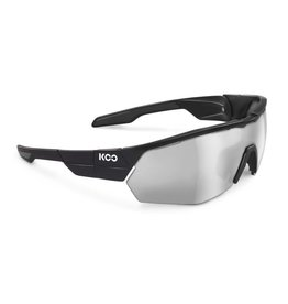 Koo Koo, Open, Black, Smoke Mirror Lenses, Medium