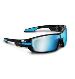 Kask Kask Koo open Black/Light blue Bluesky/Clear lense