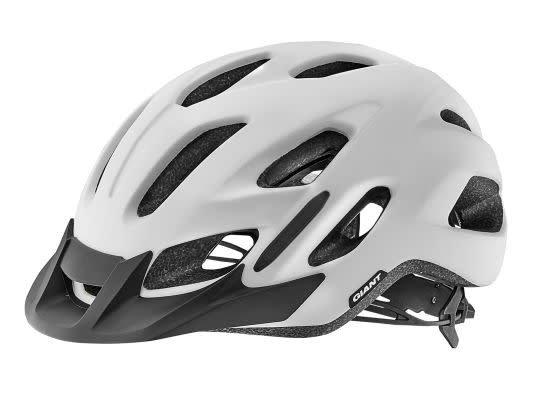 Giant Giant Compel Helmet Matte White M/L 53-61cm CPSC/CE