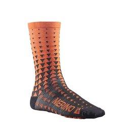 Mavic Ksyrium Merino Graphic Sock M Orange